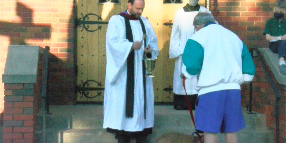 Church of the Good Shepherd celebrates first blessing of the animals
