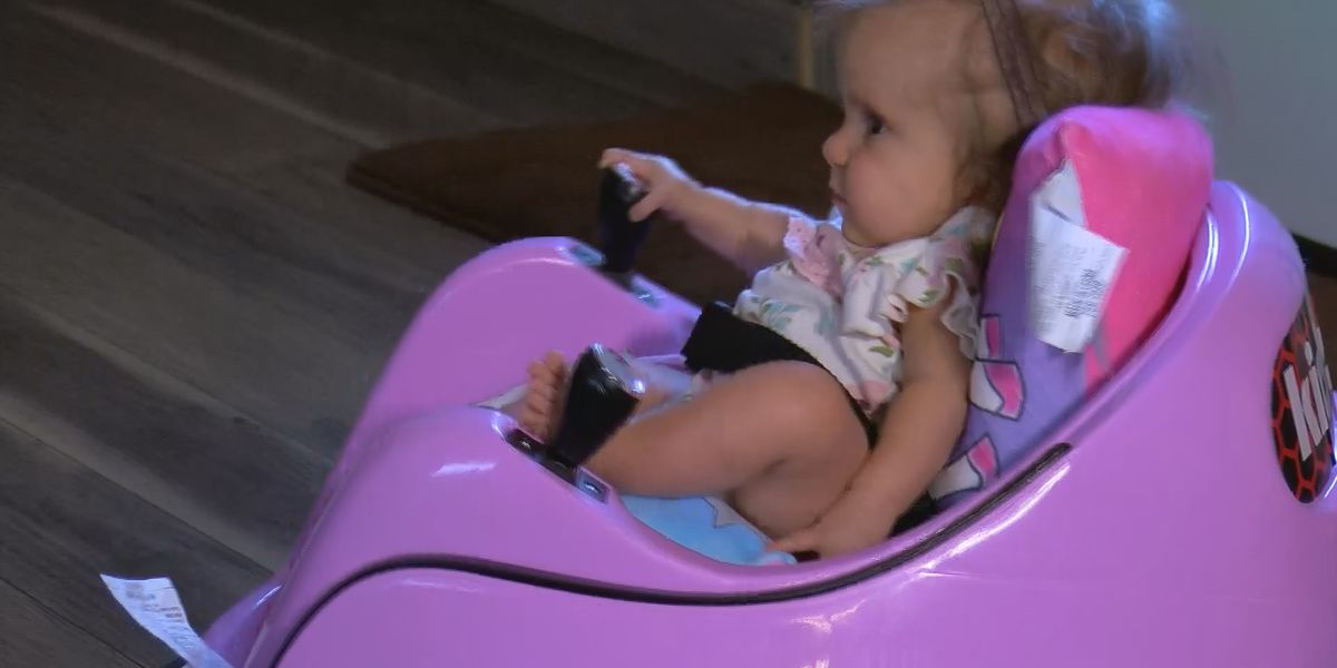 Vernon family shares how they're dealing with a daughter with brittle bone disease
