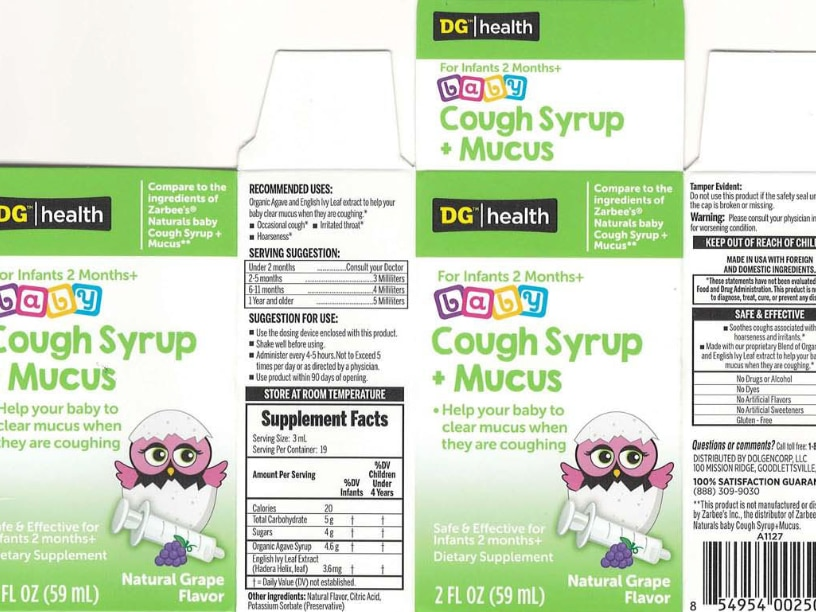 DG infant cough syrup recalled, can cause vomiting and diarrhea