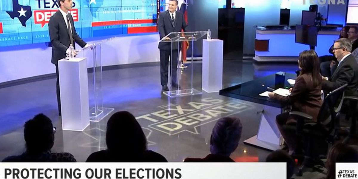 Watch: Cruz, O'Rourke faced off in debate Tuesday night