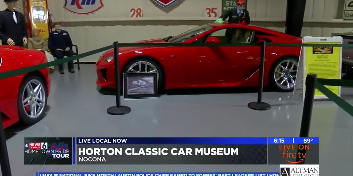 Take a step back in time at Horton Classic Car Museum