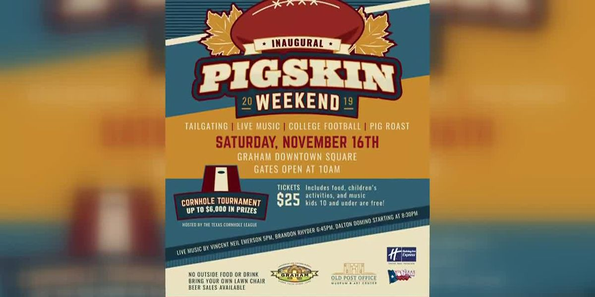 News Channel 6 City Guide - Inaugural Pigskin Weekend in Graham
