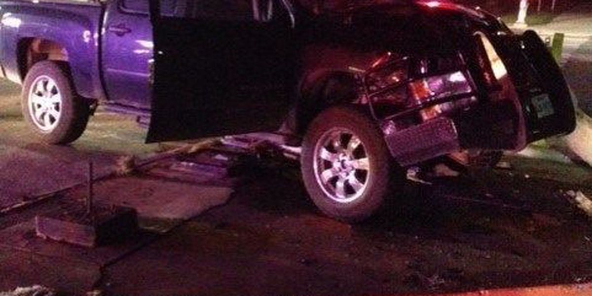 Driver Hits a Car and a Utility Pole in Intersection Accident