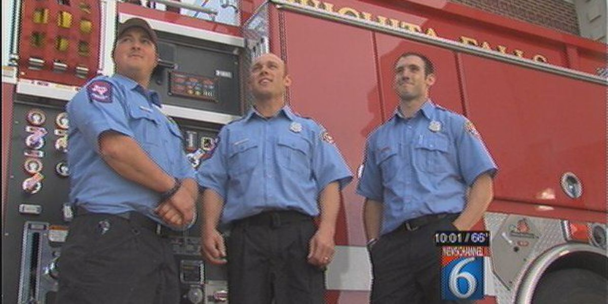 Firefighters Revive Baby