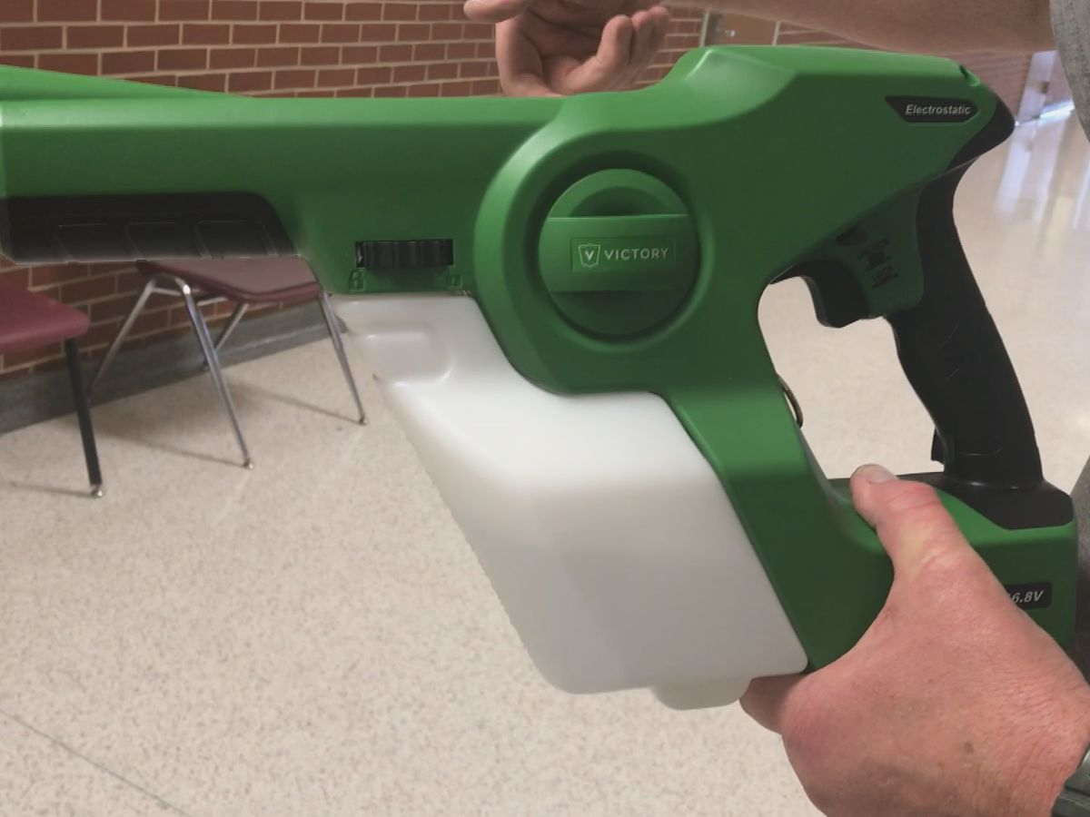 Vernon ISD cleans schools to prevent another flu outbreak