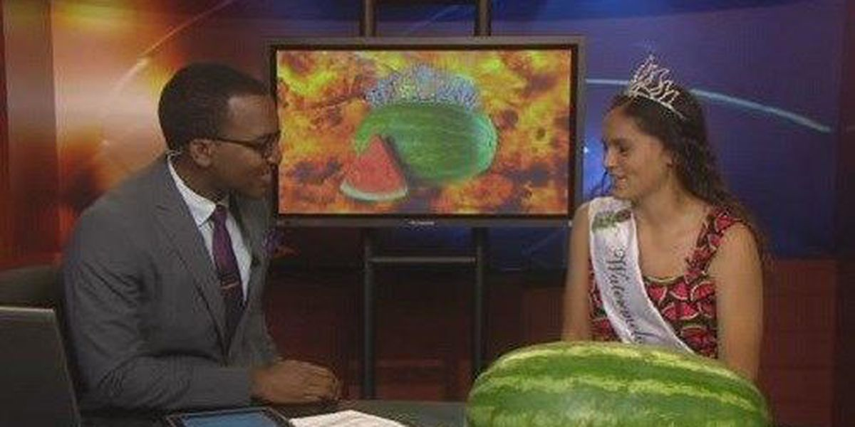 Rush Springs Watermelon Festival Queen Stops By Newschannel 6