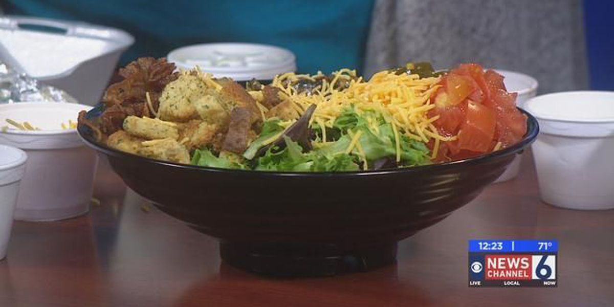 Sizzling With 6: Heff's Salad