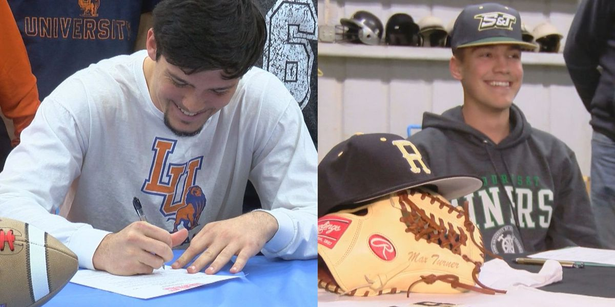 Hirschi's Randall, Rider's Turner signs for college athletics
