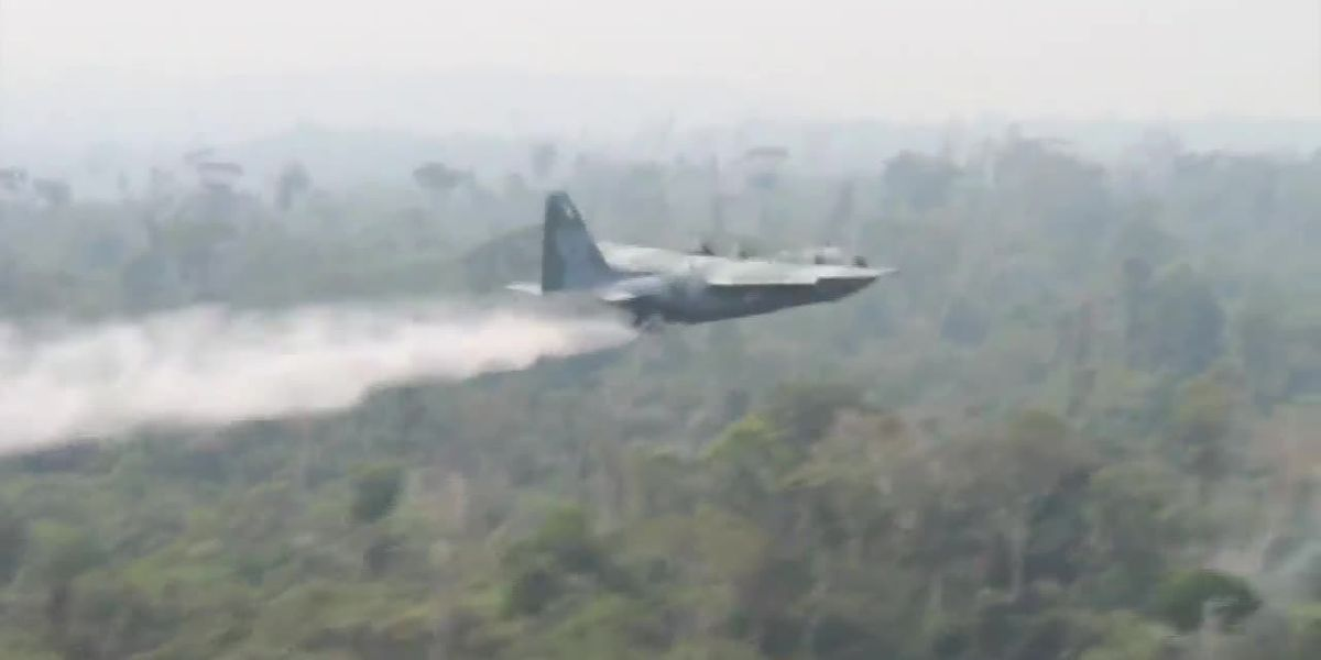 G7 leaders vow to help Brazil fight fires, repair damage