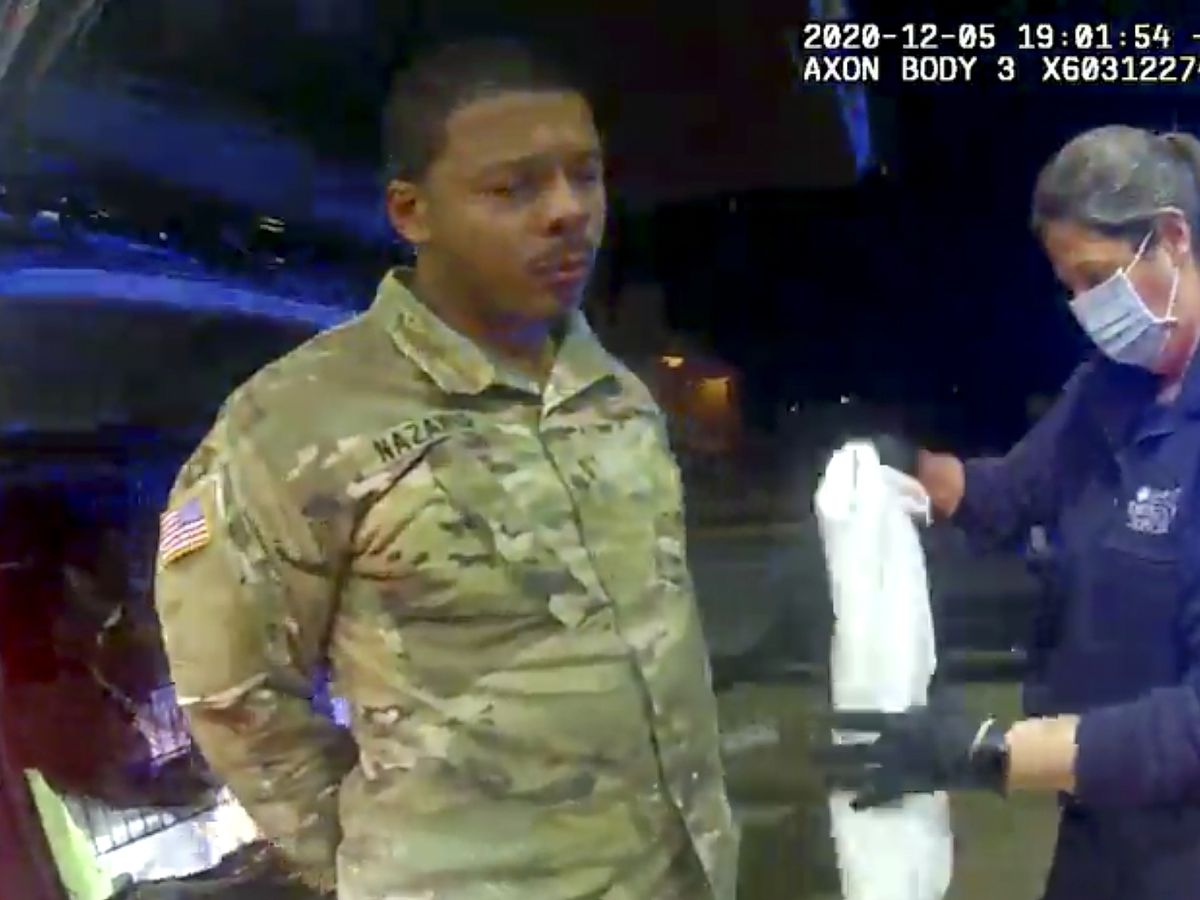 GRAPHIC: Lawsuit alleges Virginia police threatened Army officer during traffic stop