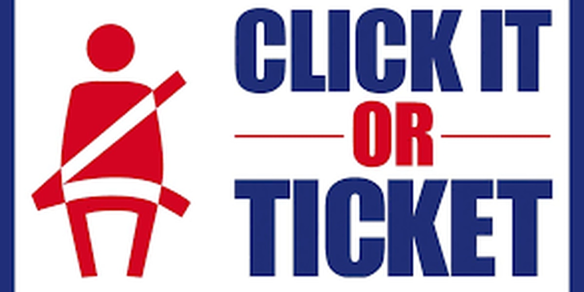 """Click It or Ticket"" campaign starts Monday"