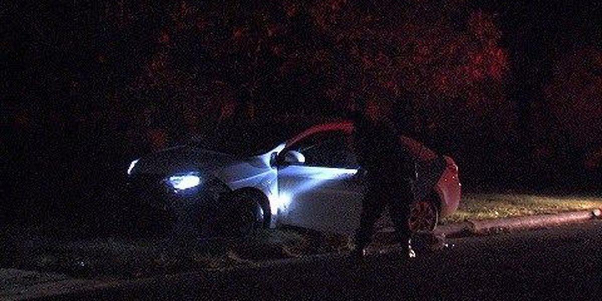Police Search For The Suspect Of A Stolen Vehicle