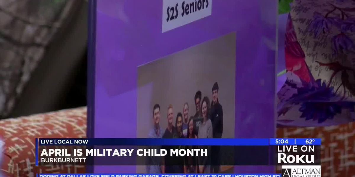 Student-led organization shows support to military families in Burkburnett ISD
