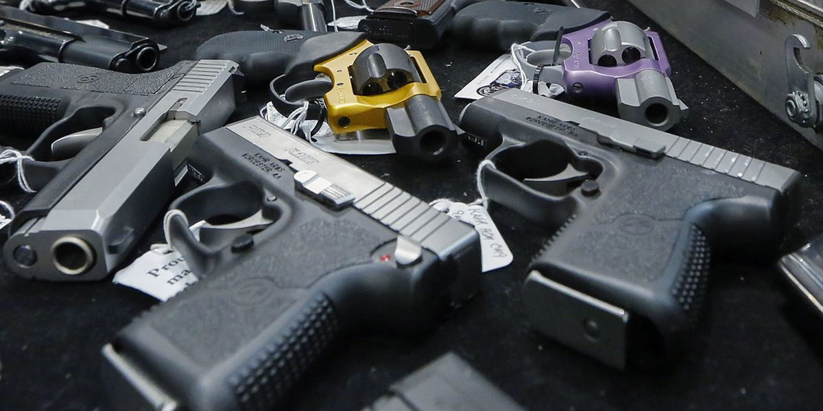 Gun deaths hit highest level in almost four decades last year