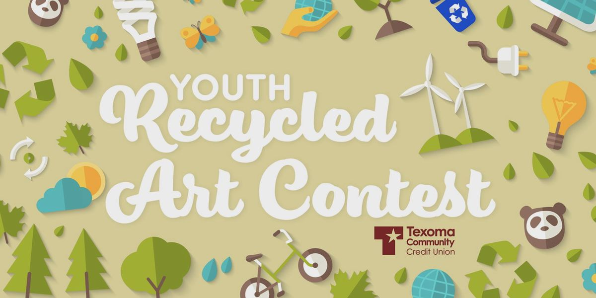 2nd annual Youth Recycled Art Contest this weekend