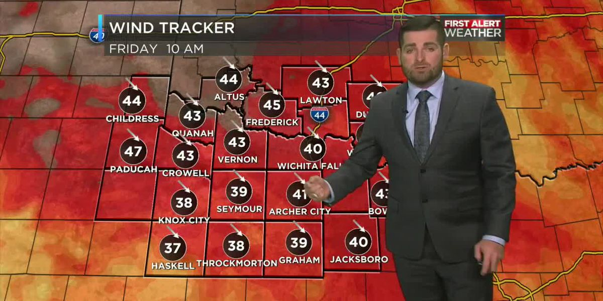 Dangerous fire conditions exist Friday