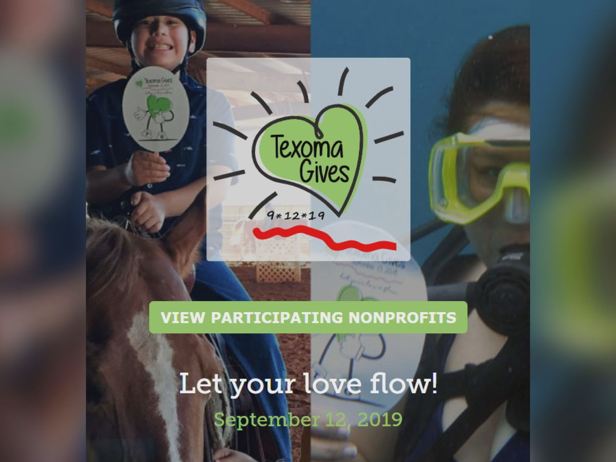 'Texoma Gives' online philanthropy event in Sept.