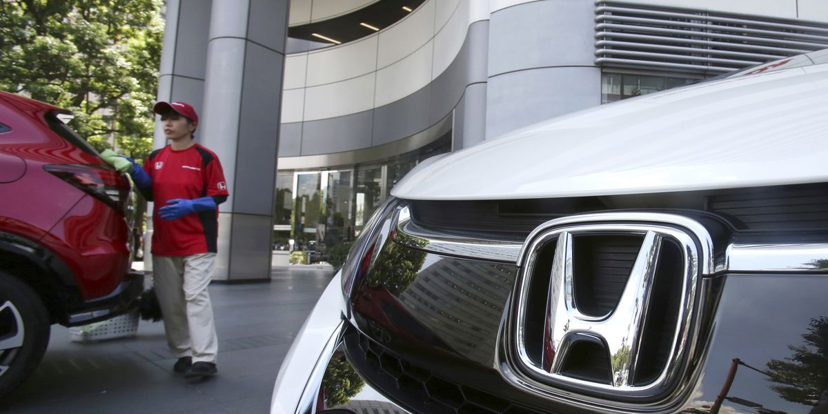 Honda to recall around 1M vehicles with dangerous air bags