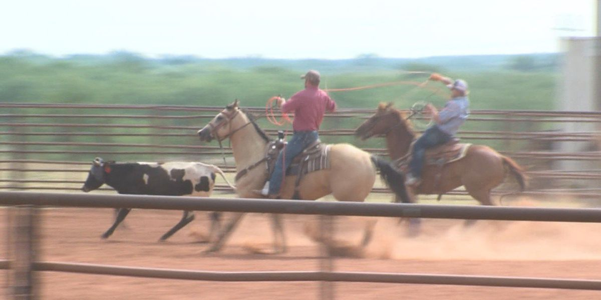 Cowboys saddle up for the Texoma Cowboy Church Team Roping Series