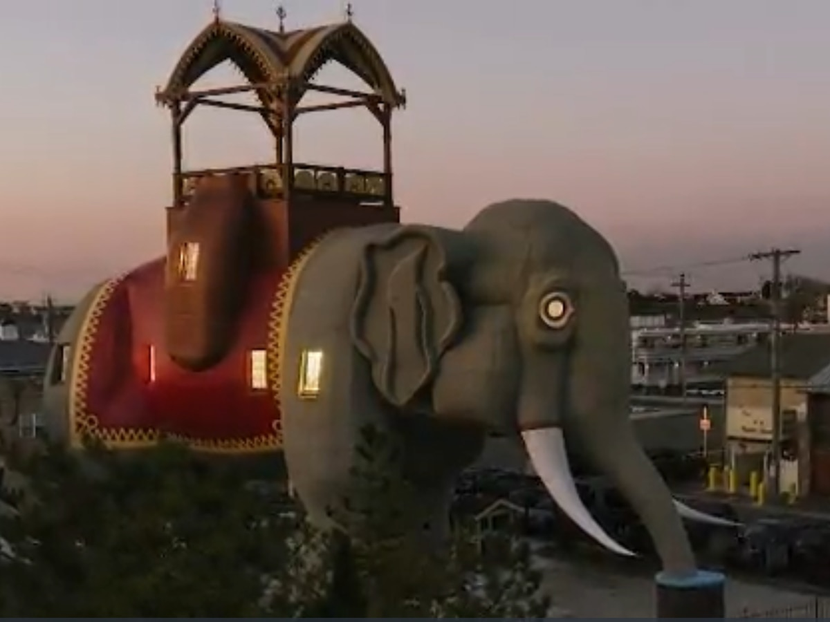 'Lucy the elephant,' 138-year-old roadside attraction, listed on Airbnb