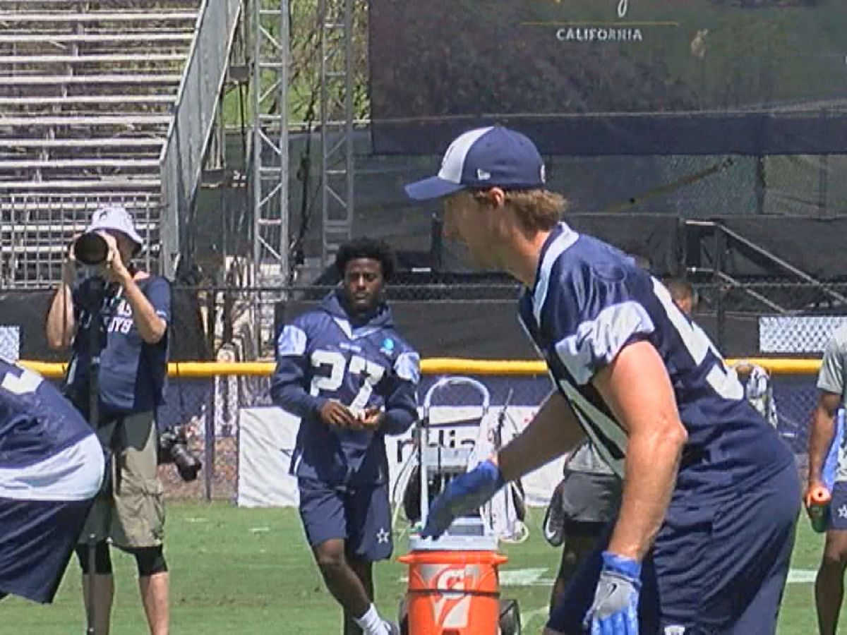 Sean Lee embracing leadership, special teams role and Irvin speaks on Zeke's holdout