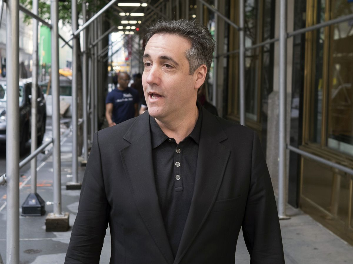 Cohen claims Trump lawyer shaped false statement to Congress