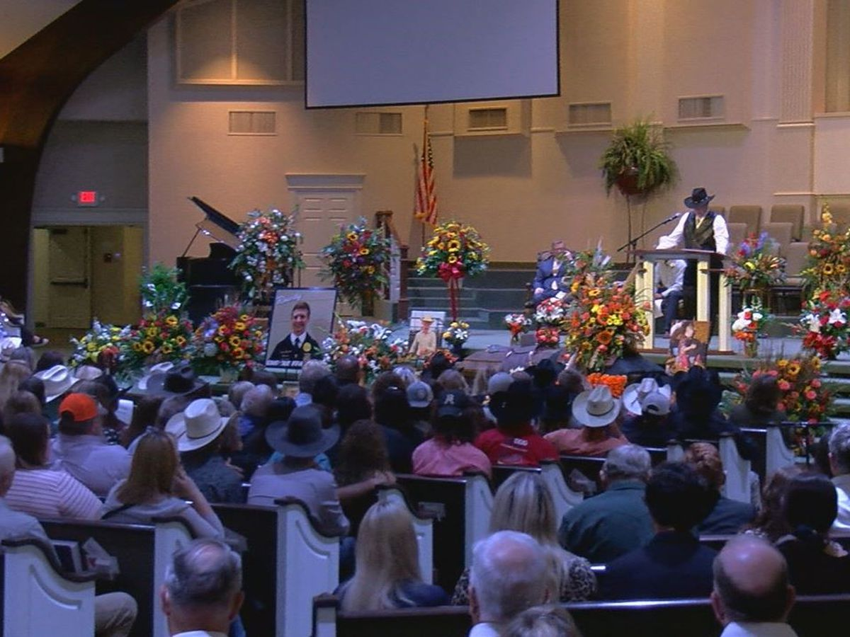 Hundreds gather in Duncan for funeral of Rowdy Swanson