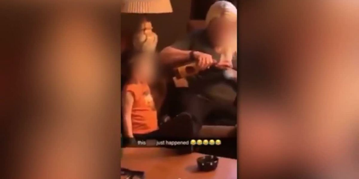 Mom in Okla. appears to give shots of booze to toddler in Snapchat video