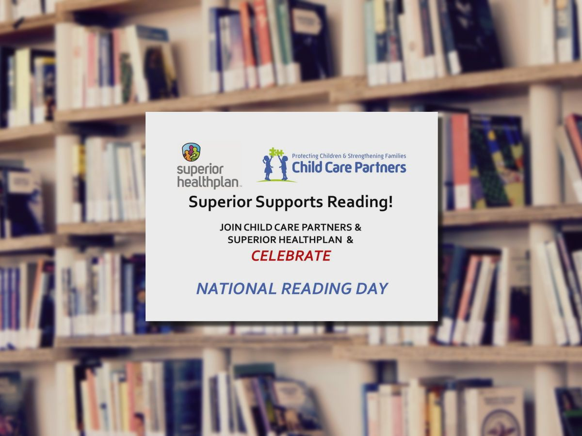 National Reading Day event being hosted by Child Care Partners