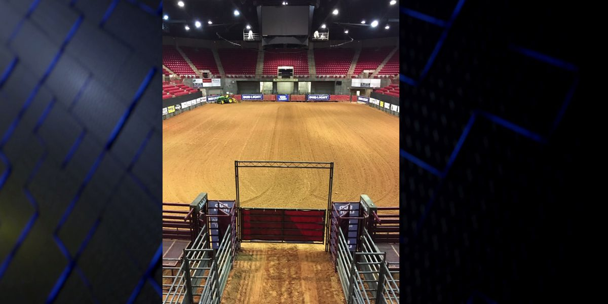 Kay Yeager Coliseum transforms for upcoming rodeo