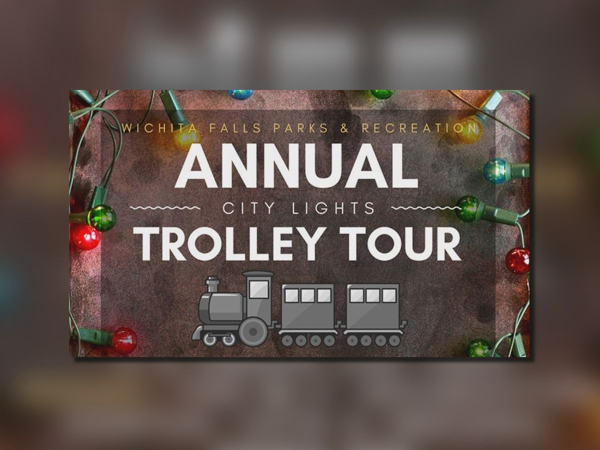 Annual 'City Lights Trolley Tour' Tuesday and Thursday