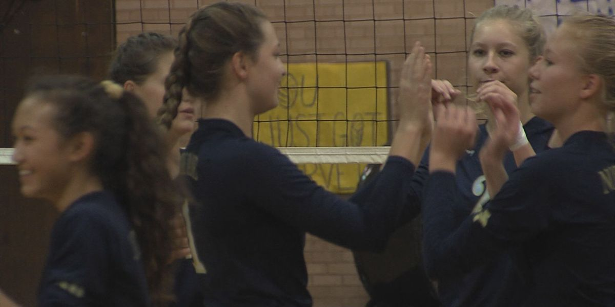 Notre Dame sweeps Faustina, advances in TAPPS playoffs