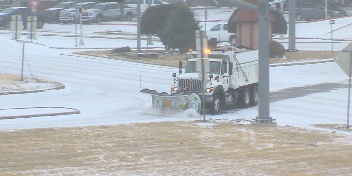 TxDOT crews and drivers prepare for storm