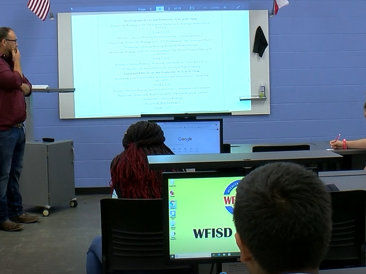 WFISD and Vernon College team up to offer dual credit at Career Education Center