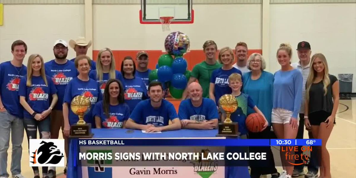 Diaz, Morris sign for college basketball