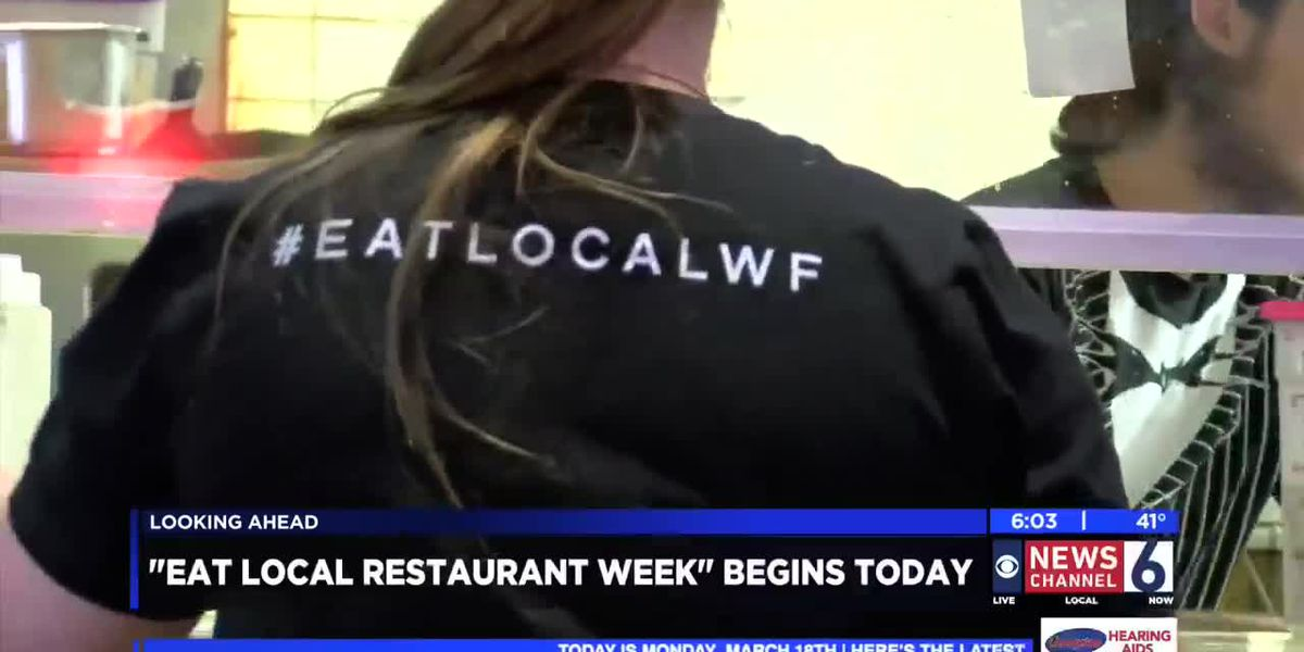 Eat Local Restaurant Week kicks off Monday