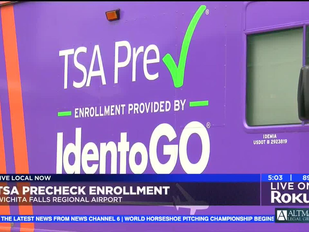TSA precheck enrollment starts today