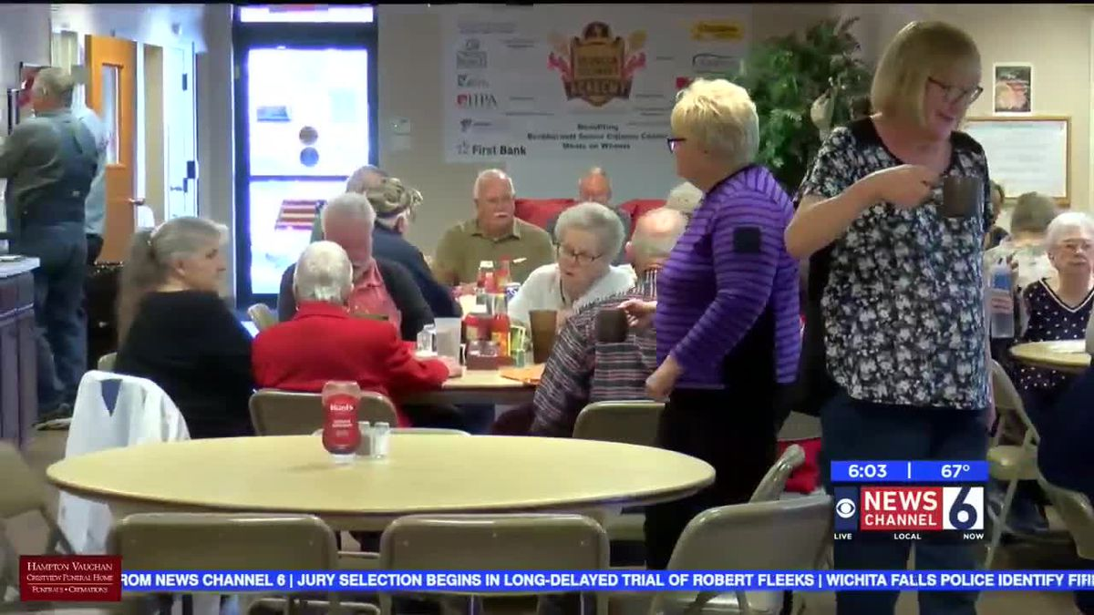 Burkburnett Senior Citizens Center seeing a decrease in participation