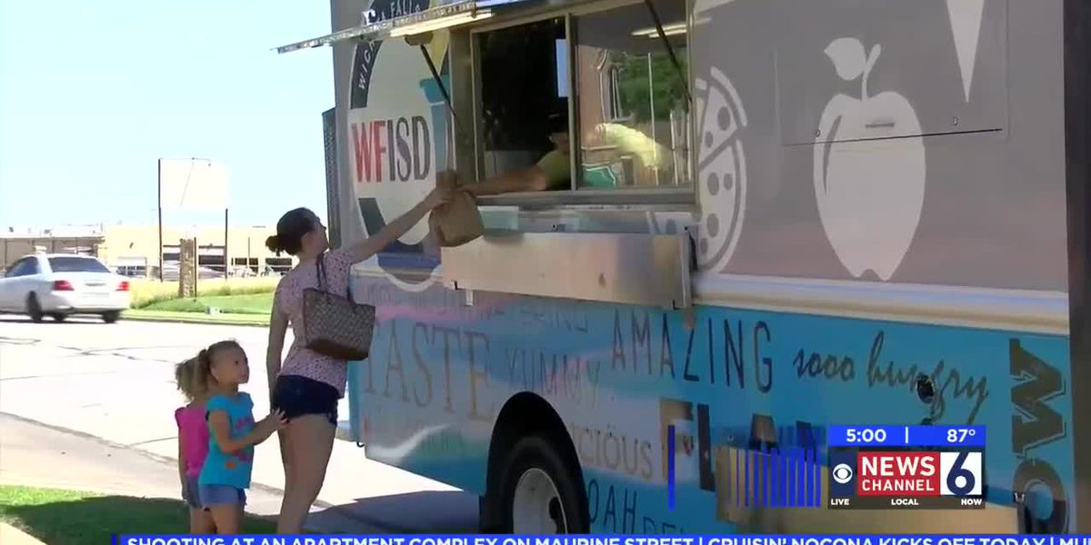 WFISD utilizes food truck to get free meals to kids