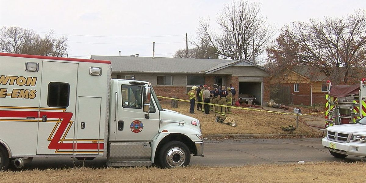Elderly man found dead in Lawton house fire