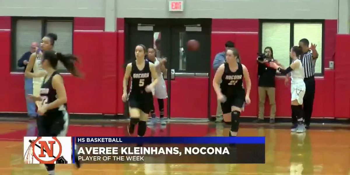 Kleinhans named HS basketball Player of the Week