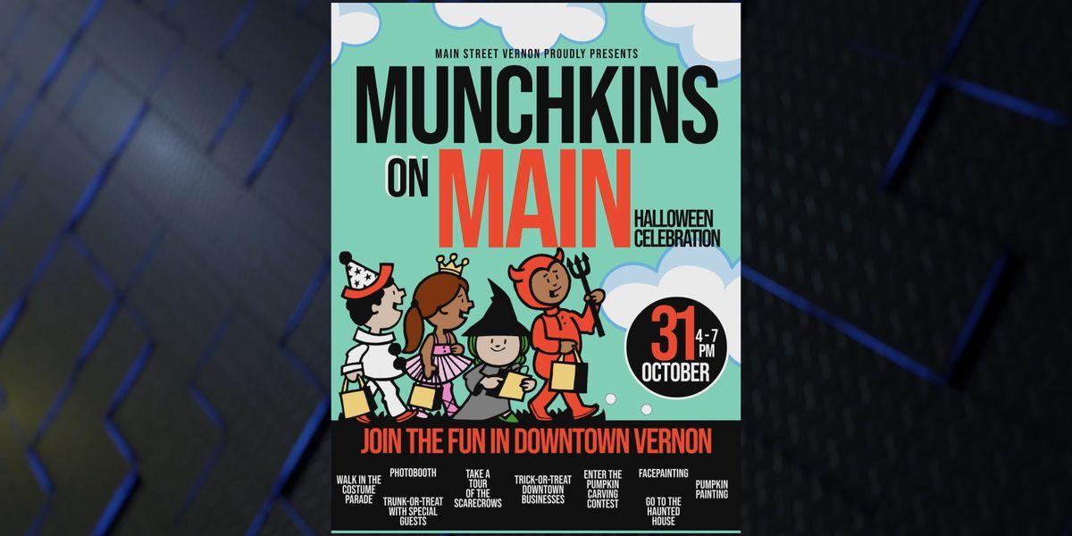 Munchkins on Main on Halloween