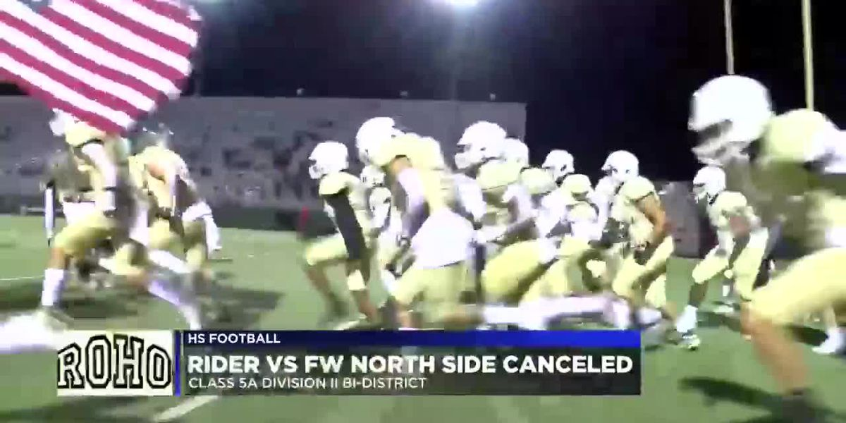 Rider football team advances to area playoffs due to COVID-19 forfeit by Ft. Worth