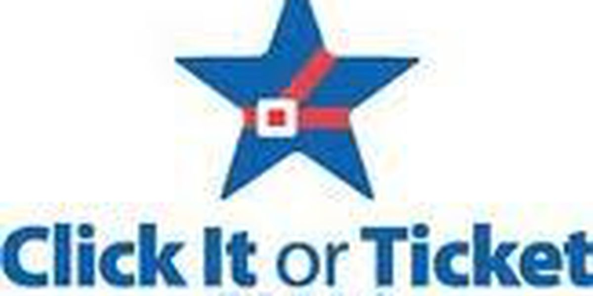 Fewer Seat Belt Citations in Click It or Ticket Campaign
