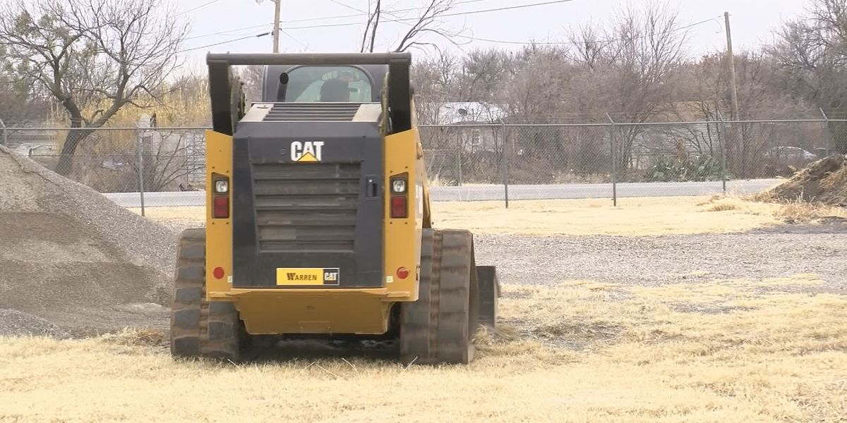 City of WF prepares equipment for weekend storm