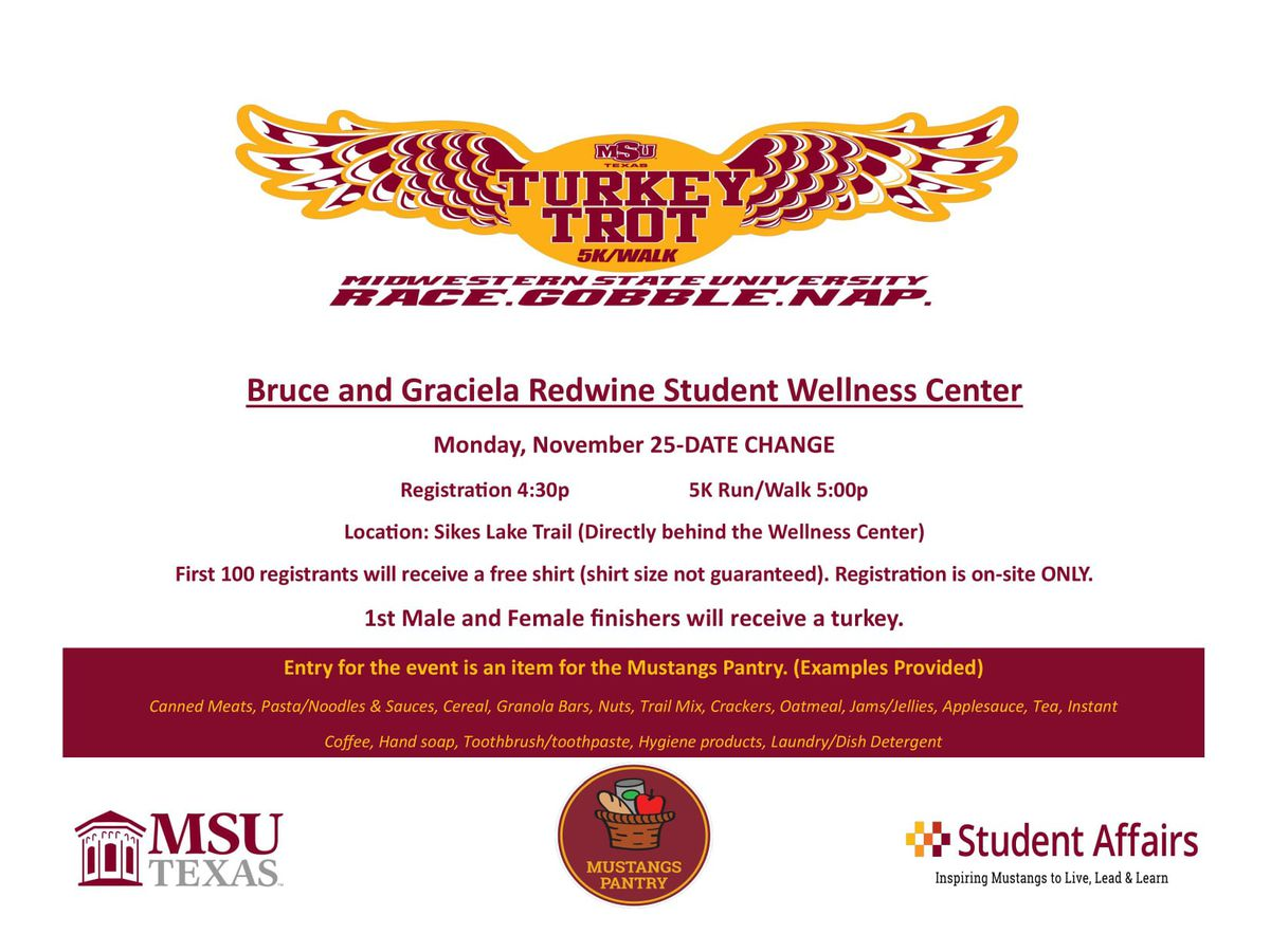 MSU Texas annual Turkey Trot moved to Monday