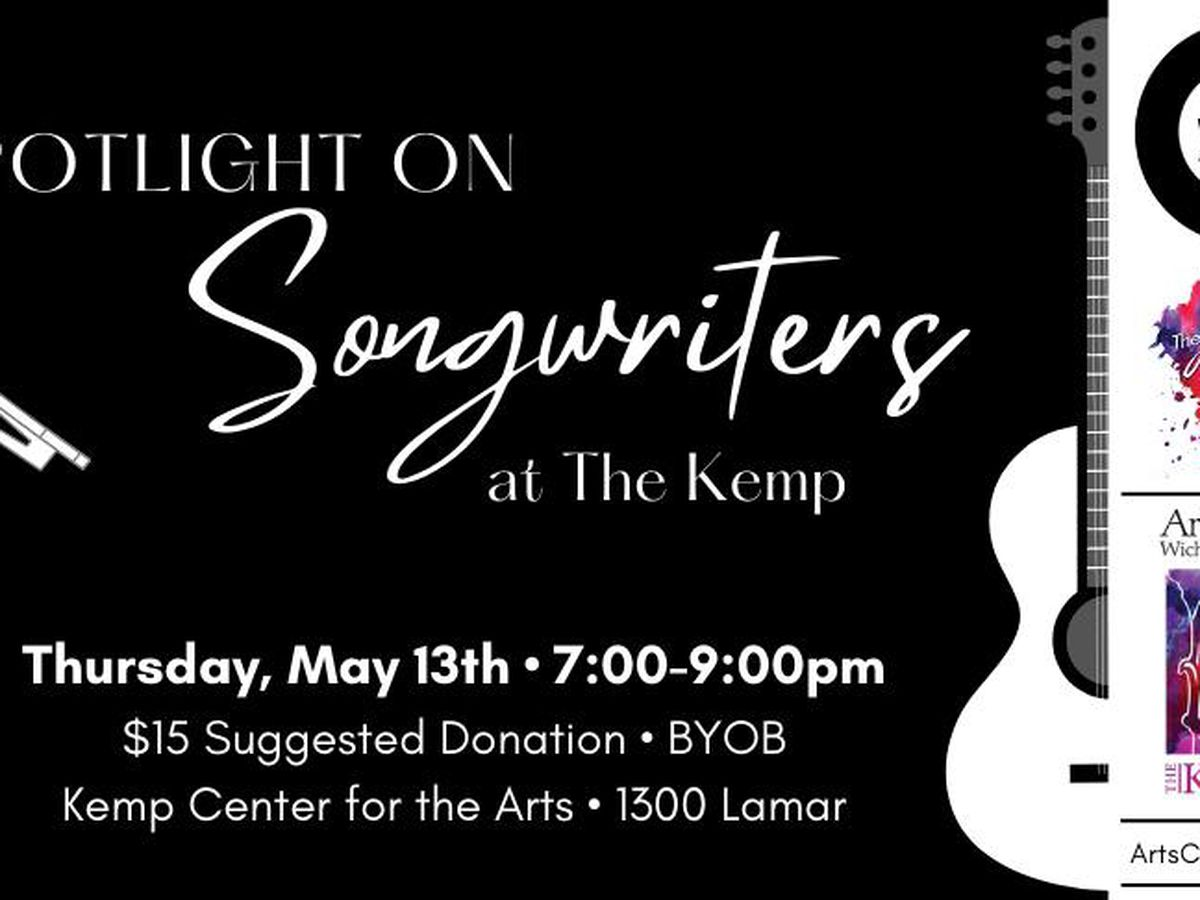 Spotlight on Songwriters set for Thursday in Wichita Falls