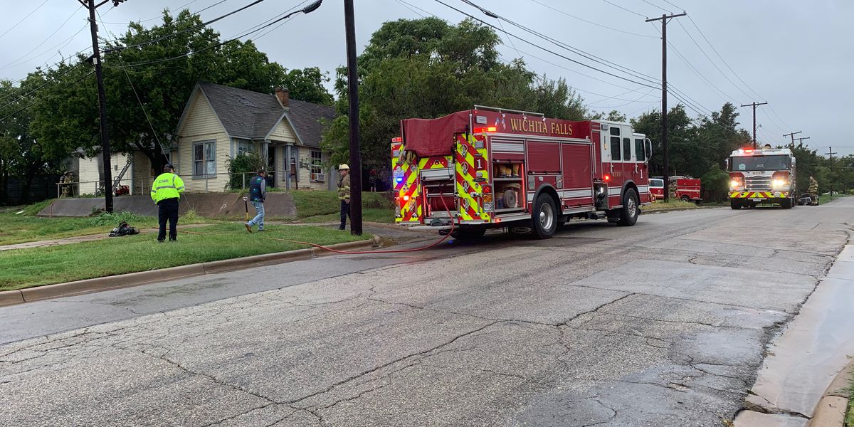 WFFD extinguishes fire on 7th Street