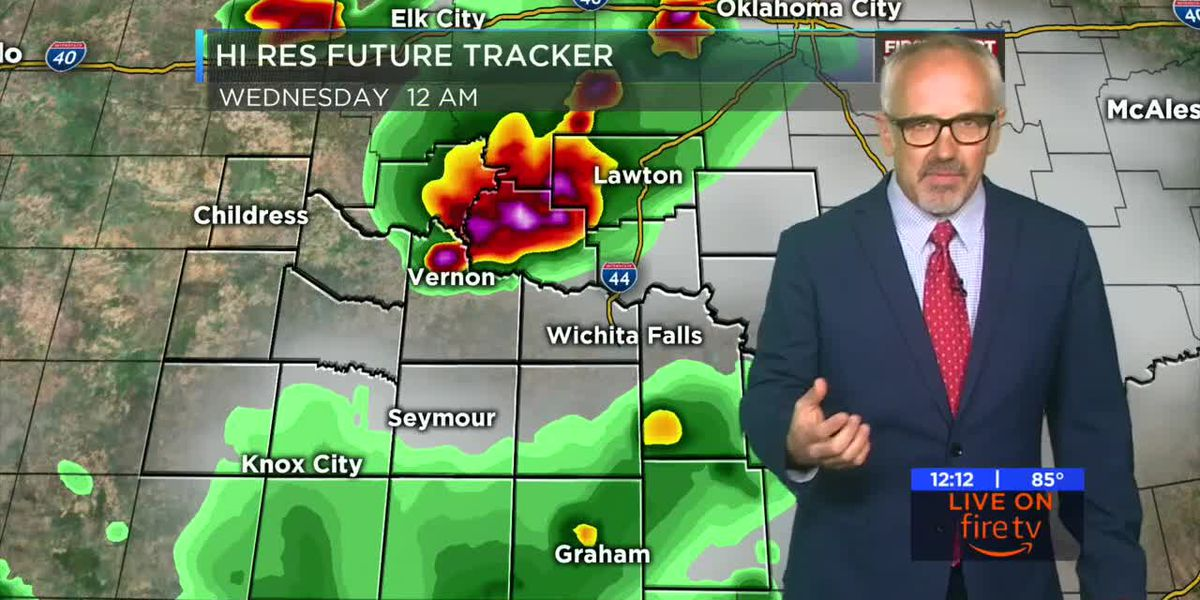 KAUZ Midday Tuesday Weather