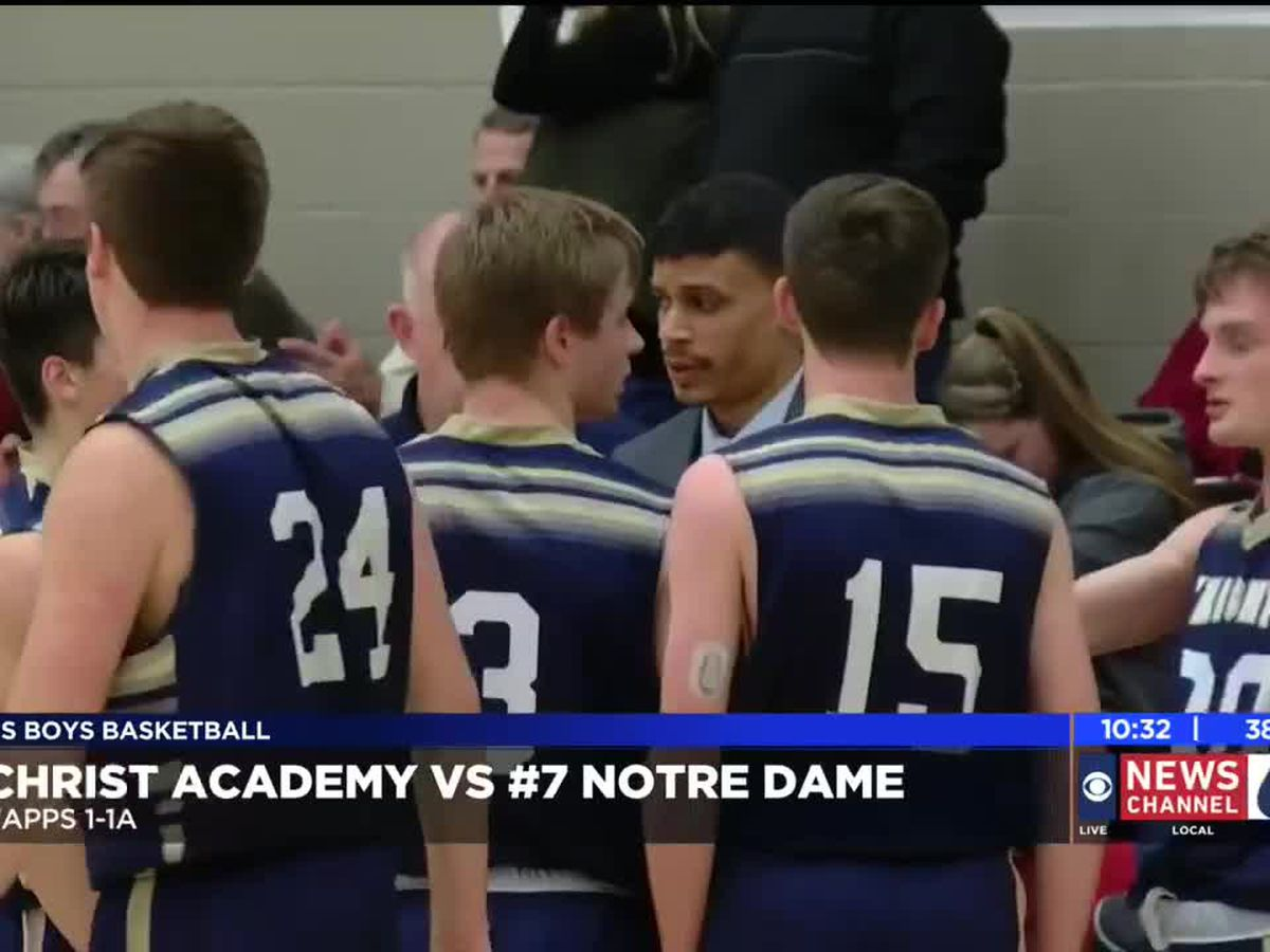 BOYS: Christ Academy vs Notre Dame highlights